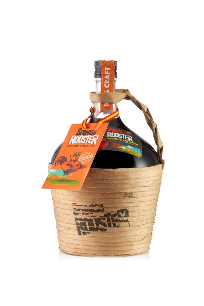 2L bottle spanish Rooster Sangria