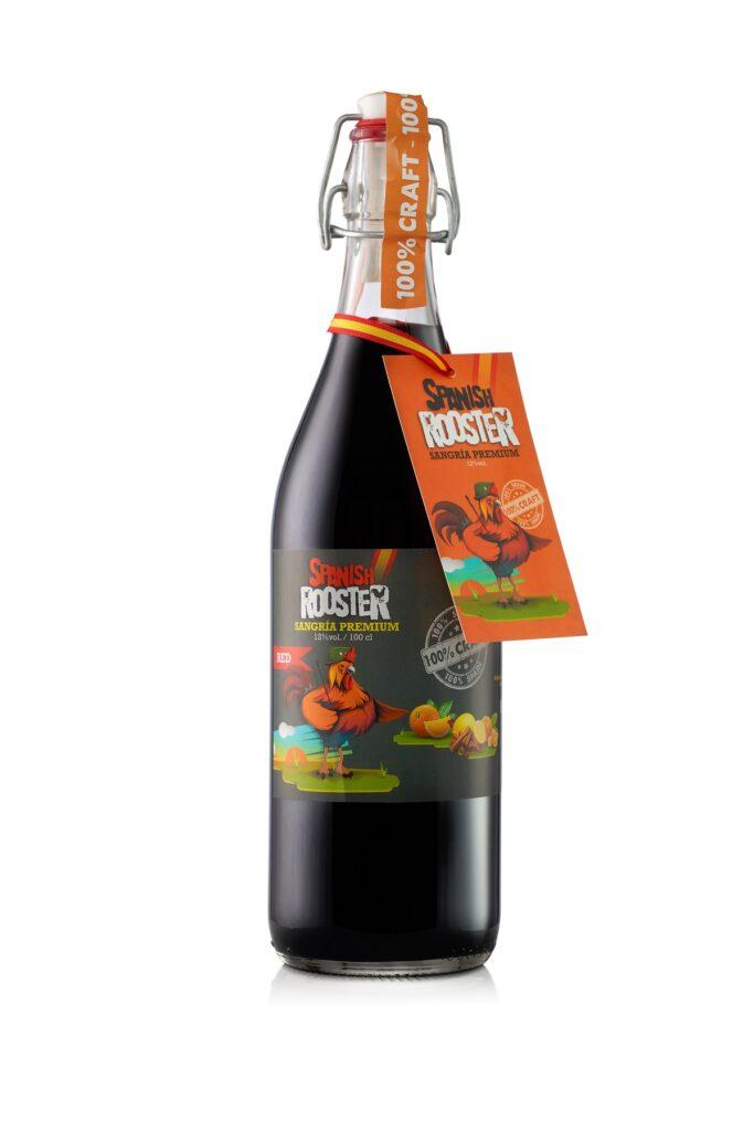 1L bottle Spanish Rooster Sangria