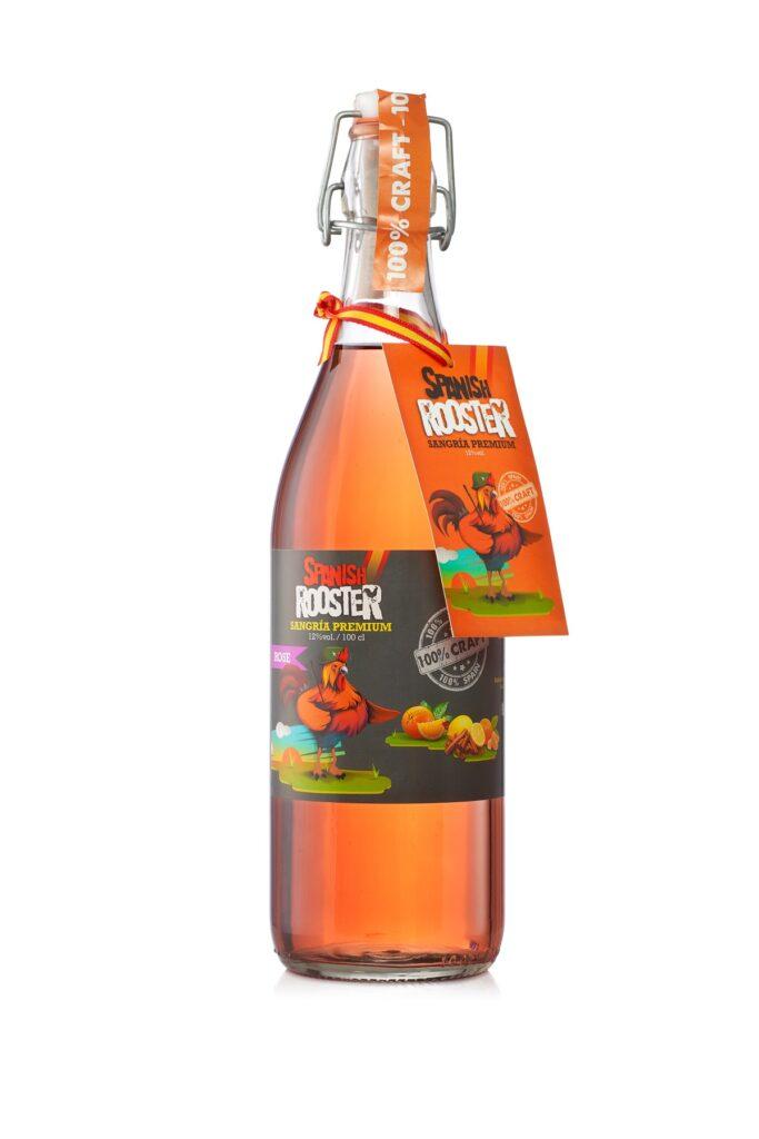 1L Bottle Spanish Rooster Sangria Rosé